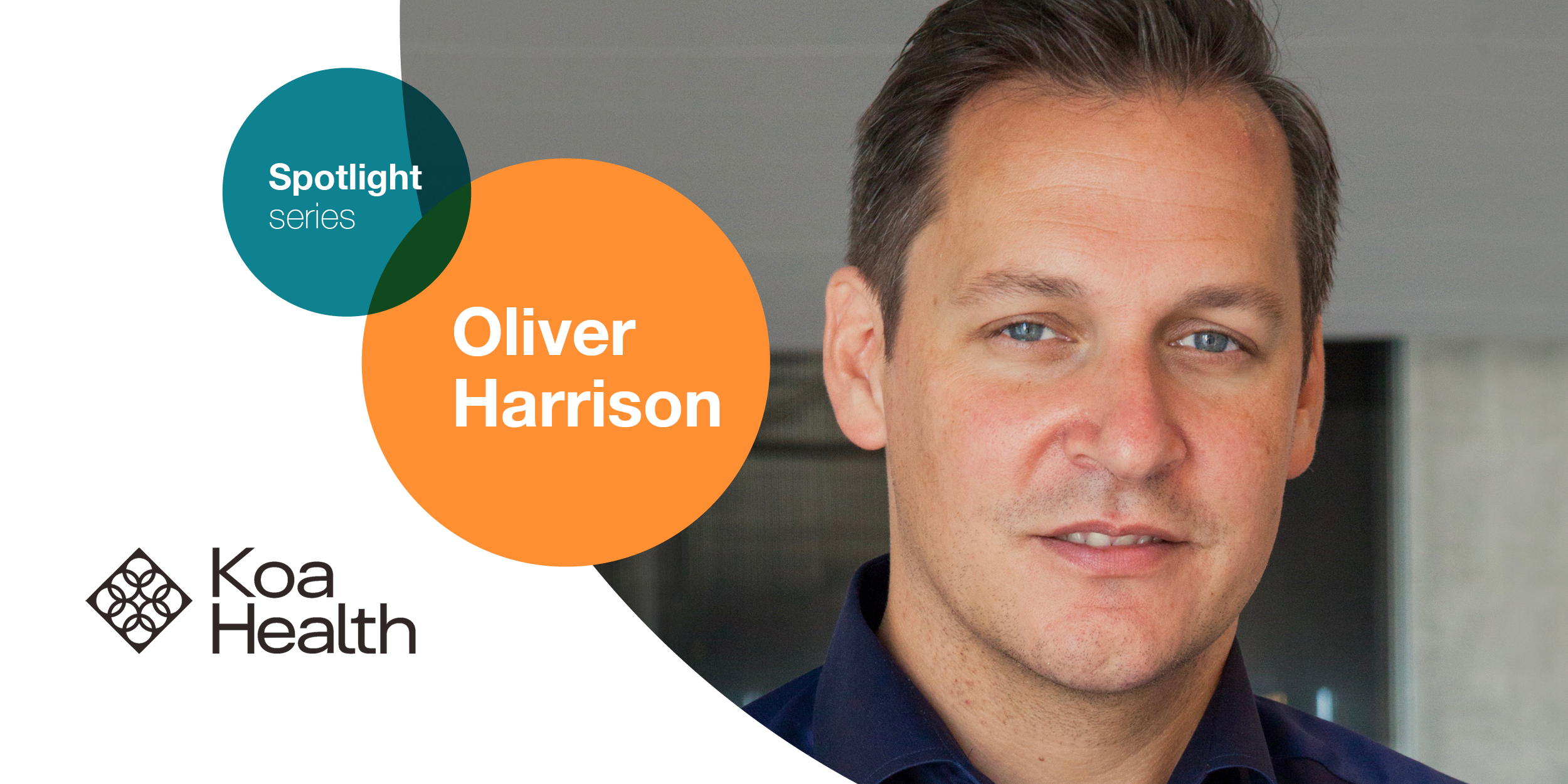 Oliver Harrison of KOA Health